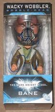 Tom Hardy Signed Wacky Wobbler Bobble Head Bane The Dark Knight Rises Proof Coa