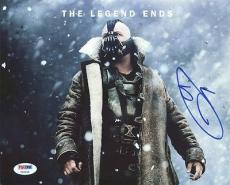 Tom Hardy The Dark Knight Rises Signed 8X10 Photo PSA/DNA #Y96152