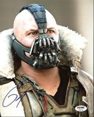 Tom Hardy The Dark Knight Rises Signed 8X10 Photo PSA/DNA #Y96154