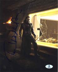 Tom Hiddleston Avengers Autographed Signed 8x10 Photo Beckett BAS COA