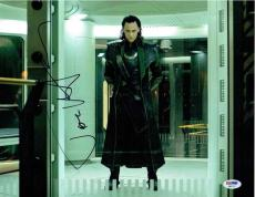 Tom Hiddleston Avengers Loki Autographed Signed 11x14 Photo Certified PSA/DNA