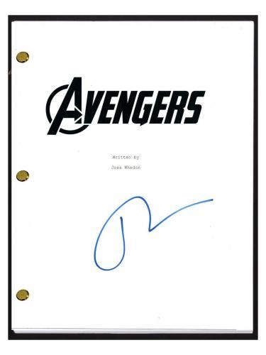 Tom Hiddleston Signed Autographed THE AVENGERS Movie Script Screenplay Loki COA