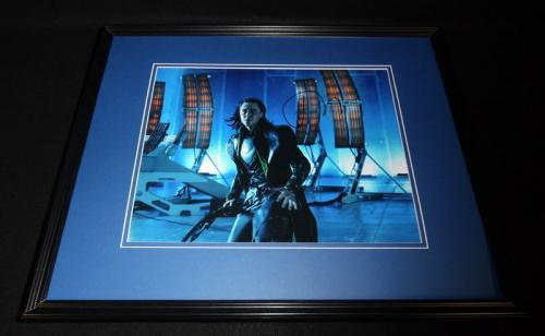 Tom Hiddleston Signed Framed 11x14 Photo Poster AW Thor Loki Avengers