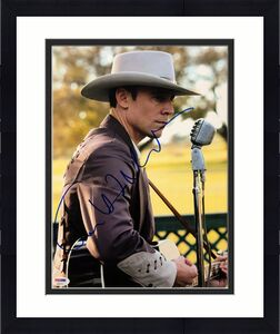 Tom Hiddleston Signed 'I Saw the Light ' 11x14 Photo *Hank Williams PSA AB92931