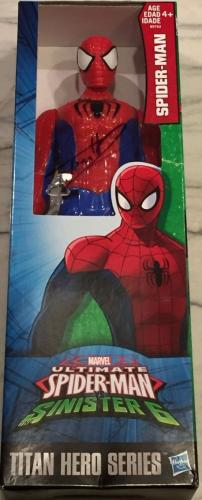 Tom Holland Signed Autograph Spider-man Official Marvel Titan Series Figure Toy