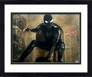 """TOM HOLLAND Signed Autographed """"SPIDER MONKEY"""" 16x20 Photo Beckett BAS Witness"""