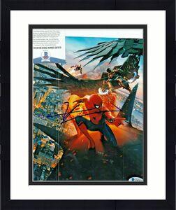 TOM HOLLAND signed (SPIDER-MAN HOMECOMING) AVENGERS 8x10 photo BECKETT COA #1