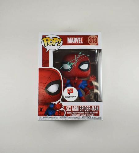Tom Holland Avengers Spider-Man Endgame Autographed Signed Pop Authentic BAS COA