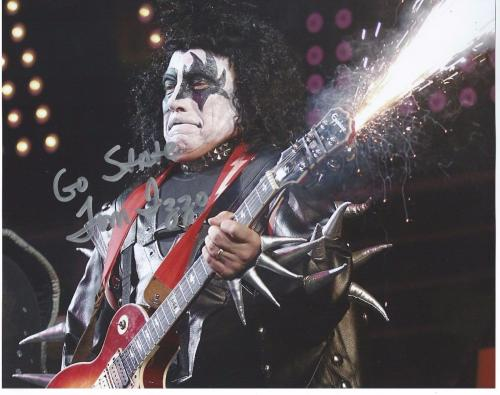 Tom Izzo Autographed Picture - KISS COSTUME 8x10