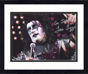 Signed Tom Izzo Photo - KISS COSTUME 8x10