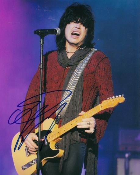 TOM KEIFER signed (CINDERELLA) MUSIC 8X10 photo *LEAD SINGER* W/COA #2