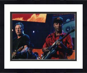 Tom Morello Autographed Signed 11x14 Concert Photo AFTAL
