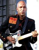 Tom Morello Autographed Signed 11x14 Photo AFTAL UACC RD COA PSA