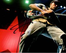 Tom Morello Autographed Signed 8x10 Rage Photo UACC RD AFTAL COA