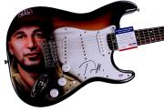 Tom Morello Autographed Signed Fender Airbrushed Guitar PSA/DNA AFTAL