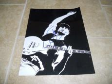 Tom Morello Rage Against Machine Signed 11x14 Photo PSA Guaranteed #2