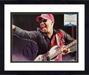 TOM MORELLO Signed 11x14 Photo #2 Rage Against the Machine ~ Beckett BAS COA