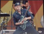 Tom Morello Signed 11x14 Photo PSA Cert# Z77116
