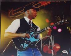 Tom Morello Signed 11x14 Photo PSA Cert# Z77118