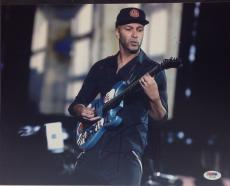 Tom Morello Signed 11x14 Photo PSA Cert# Z77120
