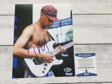 Tom Morello Signed 8x10 Photo Beckett BAS COA Rage Against The Machine b