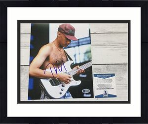 Tom Morello Signed 8x10 Photo Beckett BAS COA Rage Against The Machine b
