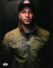 Tom Morello Signed Authentic Autographed 11x14 Photo PSA/DNA #AC20605