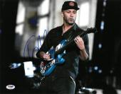 Tom Morello Signed Authentic Autographed 11x14 Photo PSA/DNA #AC20606