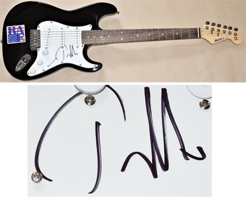Tom Morello Signed - Autographed Electric Guitar - Rage Against The Machine - Guaranteed to pass PSA/DNA JSA BAS