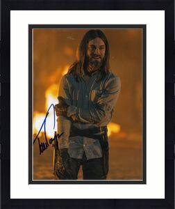 """TOM PAYNE signed (THE WALKING DEAD) TWD 8X10 photo """"PROOF"""" PAUL JESUS W/COA #2"""