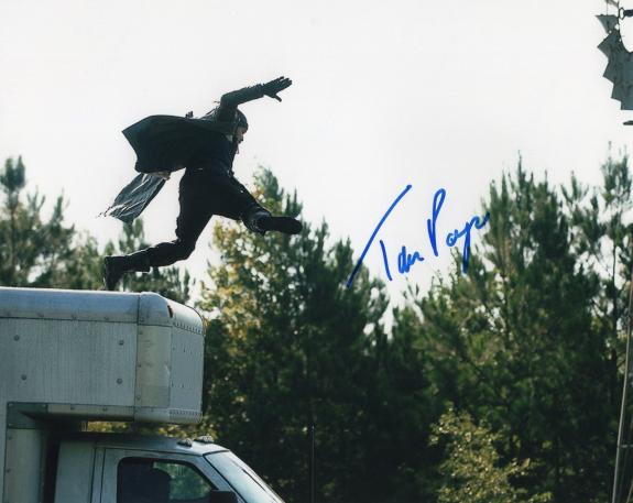 "Tom Payne The Walking Dead Paul ""Jesus"" Rovia Signed 8x10 Photo w/COA #1"