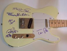TOM PETTY and The Heartbreakers GROUP Signed FENDER Telecaster GUITAR PSA DNA