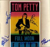 Tom Petty And The Heartbreakers Signed Full Moon Fever AFTAL UACC RD COA