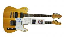 Tom Petty Autographed Signed Double Neck Telecaster Guitar AFTAL