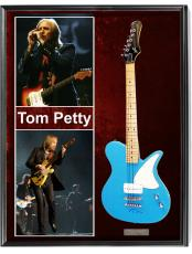 Tom Petty Autographed Signed First Act Guitar + Display UACC RD AFTAL
