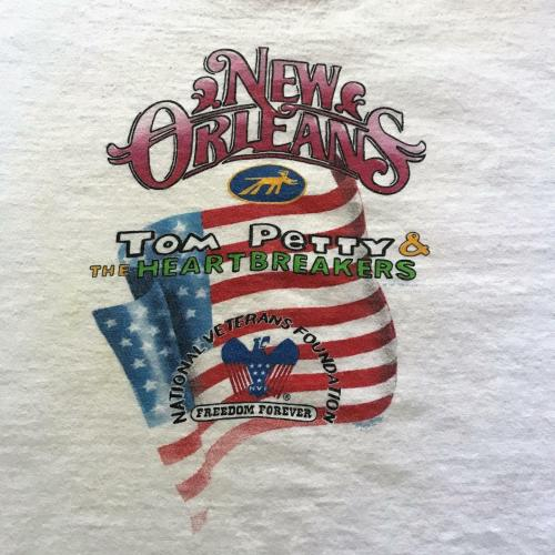 Tom Petty Concert T-shirt 1995 New Orleans National Veterans Foundation Chest 46