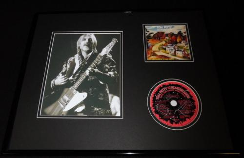 Tom Petty Framed 16x20 Into the Great Wide Open CD & Photo Display