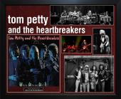 Tom Petty & Heartbreakers Signed Full Moon Fever LP Album Custom Framed Display