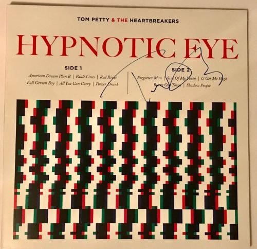 Tom Petty signed album hypnotic eye psa dna autographed the Heartbreakers