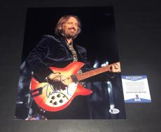 Tom Petty Signed Auto 11x14 Photo Beckett Bas Coa Free Falling