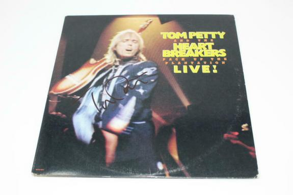Tom Petty Signed Autograph Album Vinyl Record - Rare, And The Heartbreakers Real