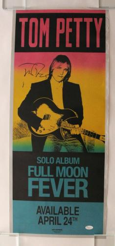 Tom Petty Signed Autograph Concert Tour Poster - And The Heartbreakers, Rare Jsa