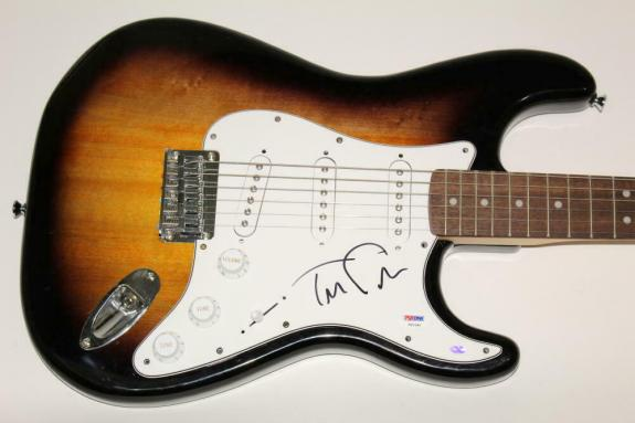 Tom Petty Signed Autograph Fender Brand Electric Guitar & The Heartbreakers Psa