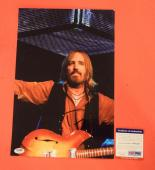 Tom Petty Signed Autographed 10x15 Photo & The Heartbreakers PSA/DNA COA