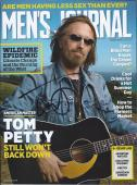 Tom Petty Signed Autographed Mens Journal Magazine The Heartbreakers