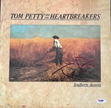 Tom Petty Signed Autographed Southern Accents Record Album PSA/DNA COA #W78097