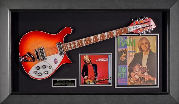 Tom Petty Signed BAM Magazine Cover W/ Rickenbacker Guitar