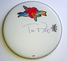 Tom Petty signed Drumhead Remo the Heartbreakers new with psa dna coa