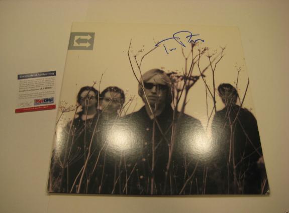 TOM PETTY Signed ECHO Album w/ PSA COA