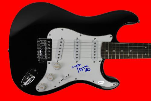 Tom Petty Signed Electric Guitar Autographed BAS #C56775